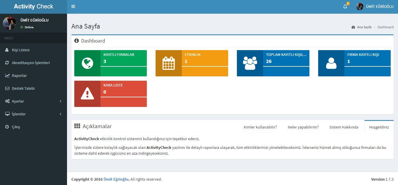 19 activitycheck etkinlik kontol uygulaması ActivityCheck Etkinlik Kontol Uygulaması 19